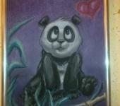 Рисунки и иллюстрации - Милый панда