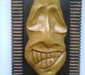 Интерьерные маски - Череп инопланетного существа...