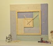"""Часы - Настенные деревянные часы """"Времена года"""""""