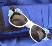 """Другие аксессуары - Солнечные очки  """"Нежность"""""""
