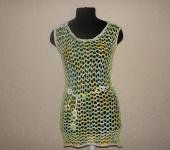 Платья - Пляжное платье -сетка