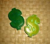 Мыло ручной работы - мыло доллар