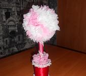 Оригинальные подарки - Топиарий цветочный