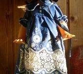 Одежда для кукол - Платье .