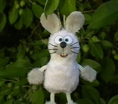 Брелоки - Зайчик-подвеска