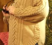 Кофты и свитера - Пуловер со снудом