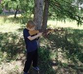 Развивающие игрушки - Деревянный автомат АК-74