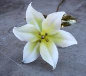 Оригинальные подарки - Кованая белая лилия