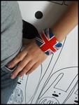 Браслеты - Браслет с Британским флагом