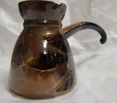 Подарочные наборы - Турка Осень керамическая и кофейная пара