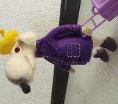 Зверята - крыса вязанная крючком Анатоль