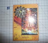 Скрапбукинг - Обложка для паспорта