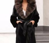 Верхняя одежда - Шуба из норки и соболя
