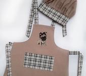 Одежда для девочек - Фартук детский с вышивкой