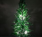 Светильники, люстры - Елка-ночник из бисера