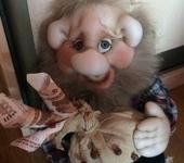 Другие куклы - Домовой Тимошка