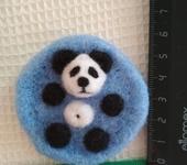 Оригинальные подарки - Магнит Панда в ванне