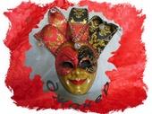 Интерьерные маски - Венецианская маска . Джокер.