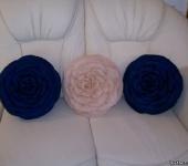 Оригинальные подарки - Подушки-розы