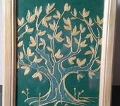 """Элементы интерьера - Картина со смыслом""""Золотое дерево"""""""