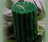 Свечи ручной работы - Свеча «Бамбуковое счастье»