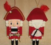 Сказочные персонажи - кукла игрушка Щелкунчик