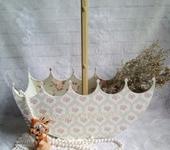 Оригинальные подарки - Зонтик -корзинка для подарка.