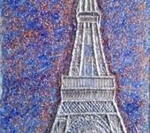 Картины со стразами - Эйфелева башня..(Незабываемый Париж).