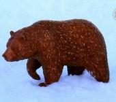 Статуэтки - Кедровый медведь Шоко