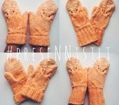 Варежки, митенки, перчатки - Варежки ручной работы