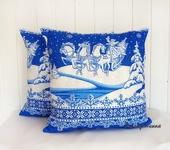 Оригинальные подарки - Подушка Зима