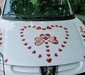 Свадебные аксессуары - Комплекты свадебных магнитных сердечек