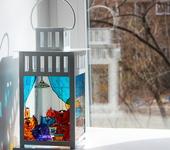 Подсвечники - Фонарь-подсвечник  Кошкин дом