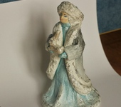 Народные куклы - Ватная Снегурочка