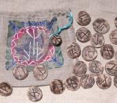 Обереги, талисманы, амулеты - ПРАВЬ-набор рун для гадания из орешника