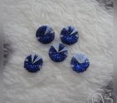 Бусины - Стразы пришивные, диаметр 1,2 см