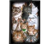 """Обложки для паспорта - Обложка для паспорта """"Коты"""""""