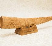Оригинальные подарки - Статуэтка. Работа из дерева. Резьба по дереву.№19