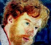 Рисунки и иллюстрации - Портрет цветными карандашами, 30х40см