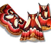 Платья - Сарафан, имитирующий крылья бабочки Ротшильдия