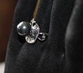 Комплекты украшений - Серебряные кольца с жемчугом майорка