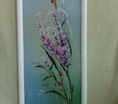 Вышитые картины - Вышитая картина Полевые цветы