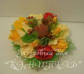 Оригинальные подарки - Осенняя свеча-3