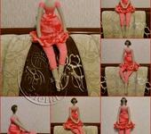 Вязаные куклы - куколка Тильда