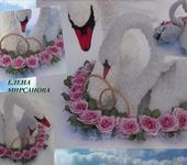Свадебные аксессуары - Свадебные лебеди на машину