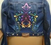 Бисер и бисероплетение - Расшивка куртки бисером