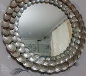 Зеркала - Зеркало. рамка из ракушек