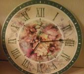 """Часы - Часы настенные """"Великолепие цветов"""""""