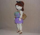 Вязаные куклы - Моника