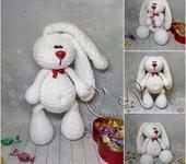Вязаные куклы - зайчишка